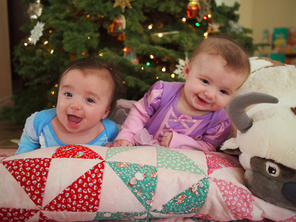 Twin Baby Princesses
