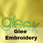 Glee Embroidery File
