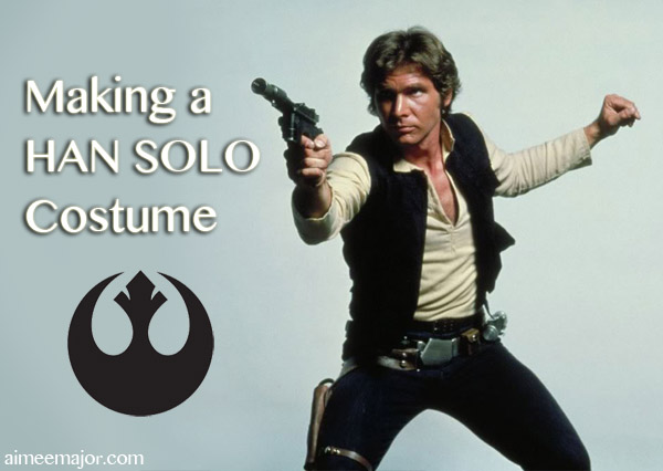Han Solo Costume Pants