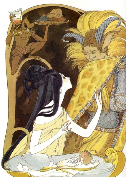 Beauty and the Beast by Hilary Knight