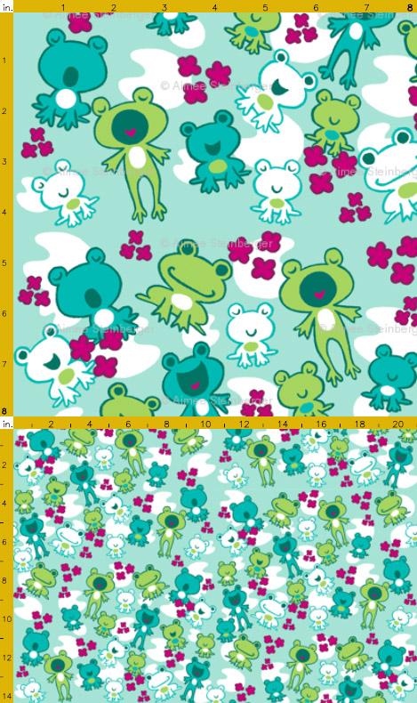 Frog Fabric