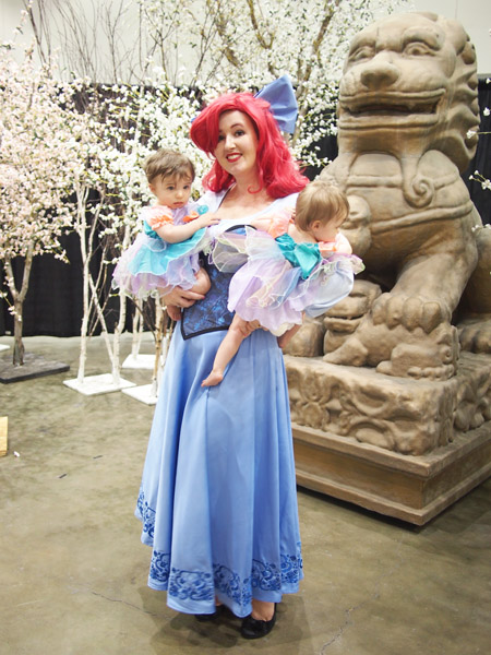 OLYMPUS DIGITAL CAMERA  sc 1 st  Aimee Major & AimeeMajor.com | The Little Mermaid Costumes at Anime Expo