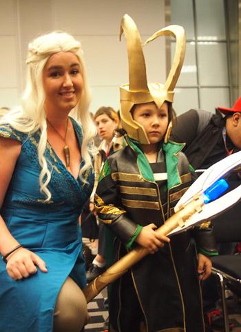baby Loki cosplay