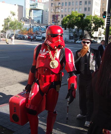 Hiphop stormtrooper