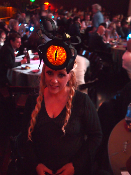 Eye of Sauron Hat