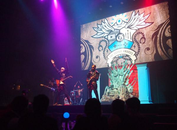 Songhammer Geekie Awards 2014