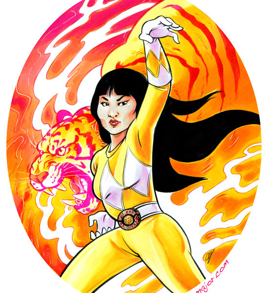 Trini, Yellow Power Ranger